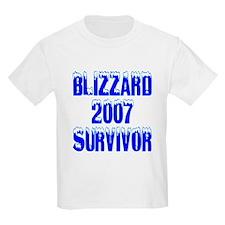 Blizzard2007Survivor Kids T-Shirt