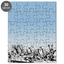 alice-vintage-border_blue_14-333x18v Puzzle