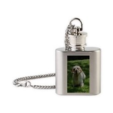 FinleyKeySq Flask Necklace