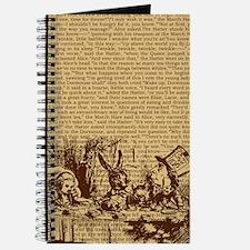 alice-vintage-border_brown_9-86x18v Journal