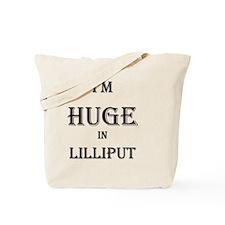 Lilliput_blk Tote Bag