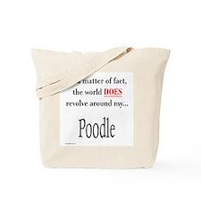 Poodle World Tote Bag
