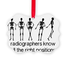 (BXL) Radiographers Know All The  Ornament