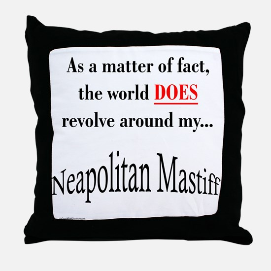 Neo World Throw Pillow