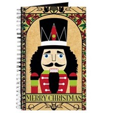 Merry Christmas Nutcracker Journal
