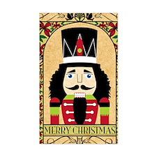 Merry Christmas Nutcracker Decal