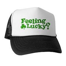 Feeling-Lucky-mid Trucker Hat