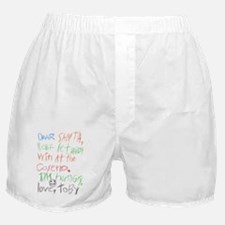 Dear Santa 2 Boxer Shorts