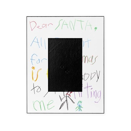 Dear Santa Picture Frame
