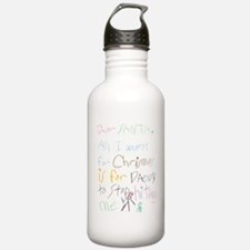 Dear Santa Water Bottle