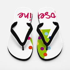 Christmas-tree-Josephine Flip Flops