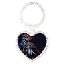 sylvanassmallposter Heart Keychain