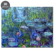 Pillow Monet WLilies Puzzle