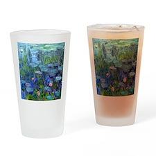 Pillow Monet WLilies Drinking Glass