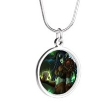 gwystylsmallposter Silver Round Necklace
