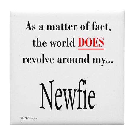 Nefie World Tile Coaster