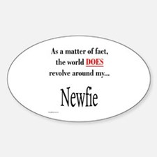 Nefie World Oval Decal