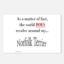 Norfolk World Postcards (Package of 8)