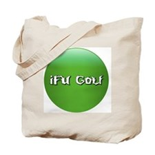 2011-12-07_iFU_Golf_Green_Button_7_1042x1 Tote Bag