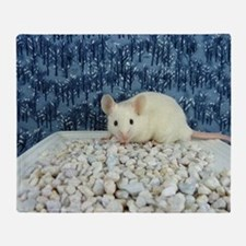 Winter Mouse Throw Blanket