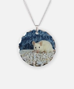 Winter Mouse Necklace