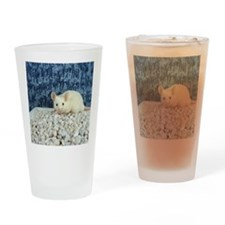 Winter Mouse Drinking Glass