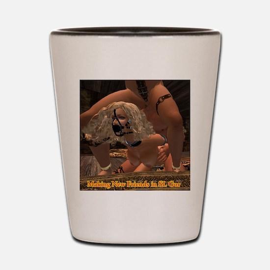new-friends-in-slgor Shot Glass
