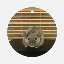Mousey Round Ornament