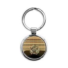 Mousey Round Keychain