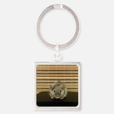 Mousey Square Keychain