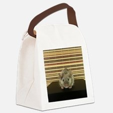 Mousey Canvas Lunch Bag