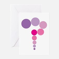 Pink and Purple Question Mark Greeting Cards (Pack