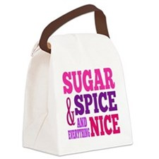 SugarSpice Canvas Lunch Bag