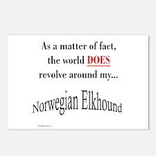 Elkhound World Postcards (Package of 8)