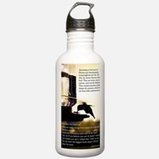Hummingbird Poster Water Bottle