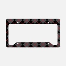 Argyle_Black1_1_44 License Plate Holder