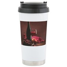 wine_and_grapes Travel Mug