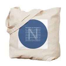 whatyouthinkround Tote Bag