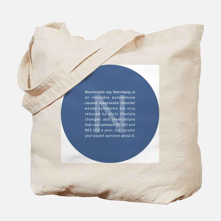 whatyouthinkround Tote Bag