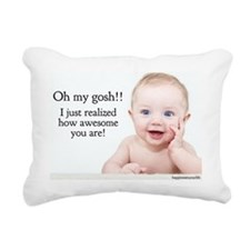 awesome baby 57 Rectangular Canvas Pillow