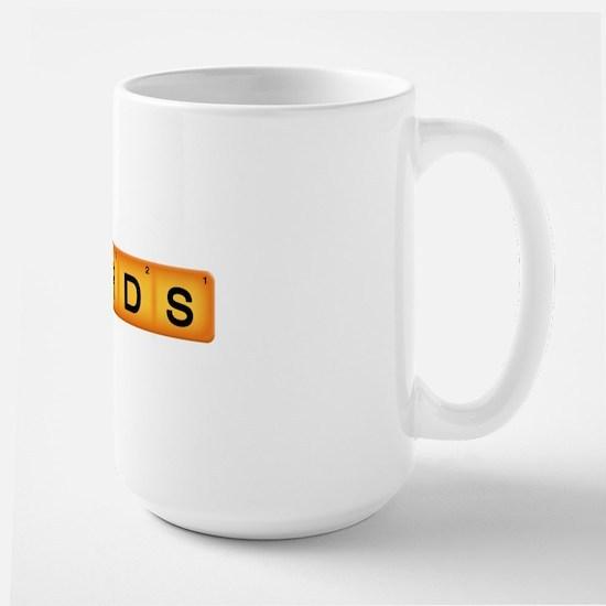 words copy Large Mug