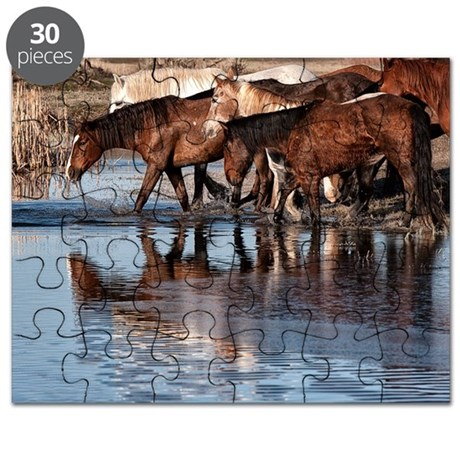 tote_Horses in water copy Puzzle