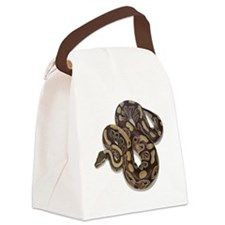 SAM_0191squarewhite Canvas Lunch Bag