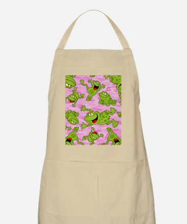 Leaping Frogs Apron