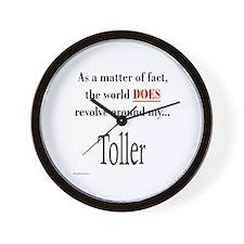 Toller World Wall Clock