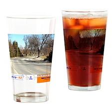 CalendarFront Drinking Glass