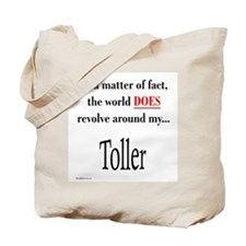 Toller World Tote Bag