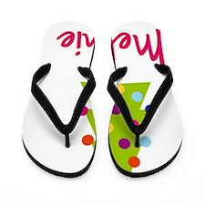 Christmas-tree-Melanie Flip Flops