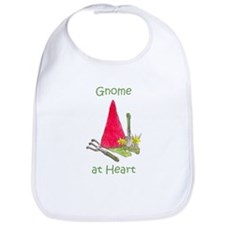 Gnome at Heart Bib