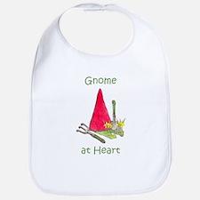 Gnome at Heart Bib